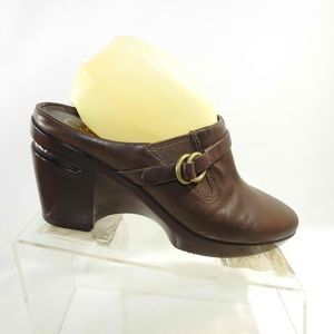 Cole Haan Size 9 Brown Heels Clogs Shoes For Women